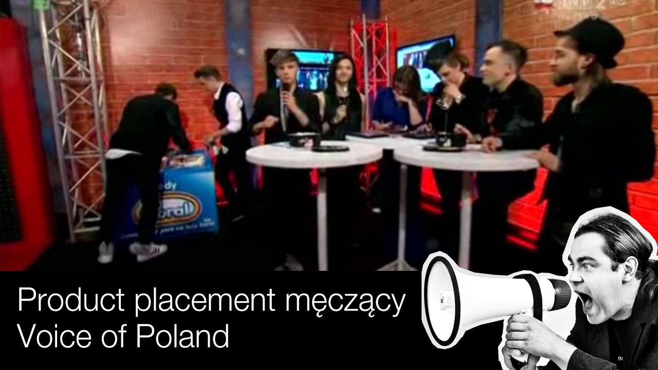 2014 05 product placement voice of poland