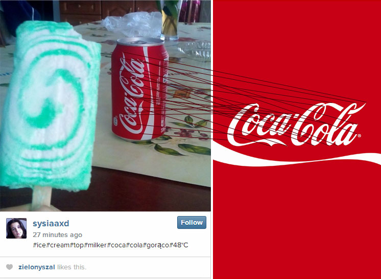 cola image recognition