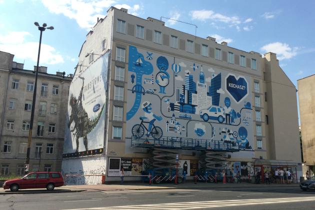 mural PZU podczas malowania2