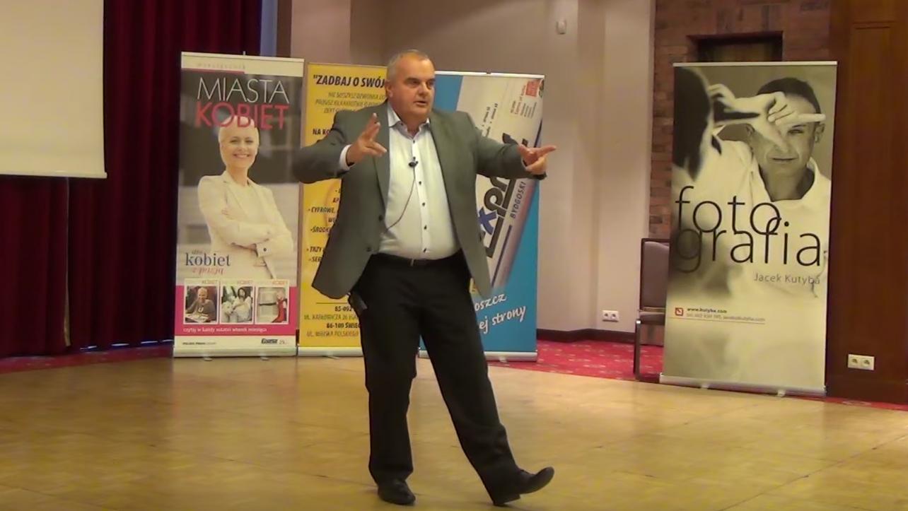 Alex Barszczewski - wystąpienie Charmsy Biznesu 2015