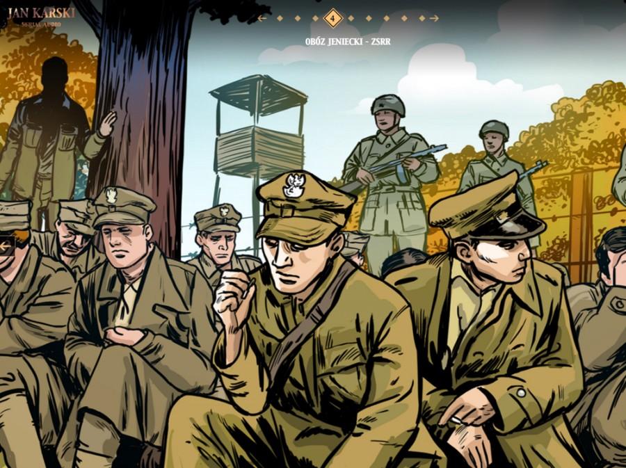 Jan Karski serial audio superprodukcja komiks