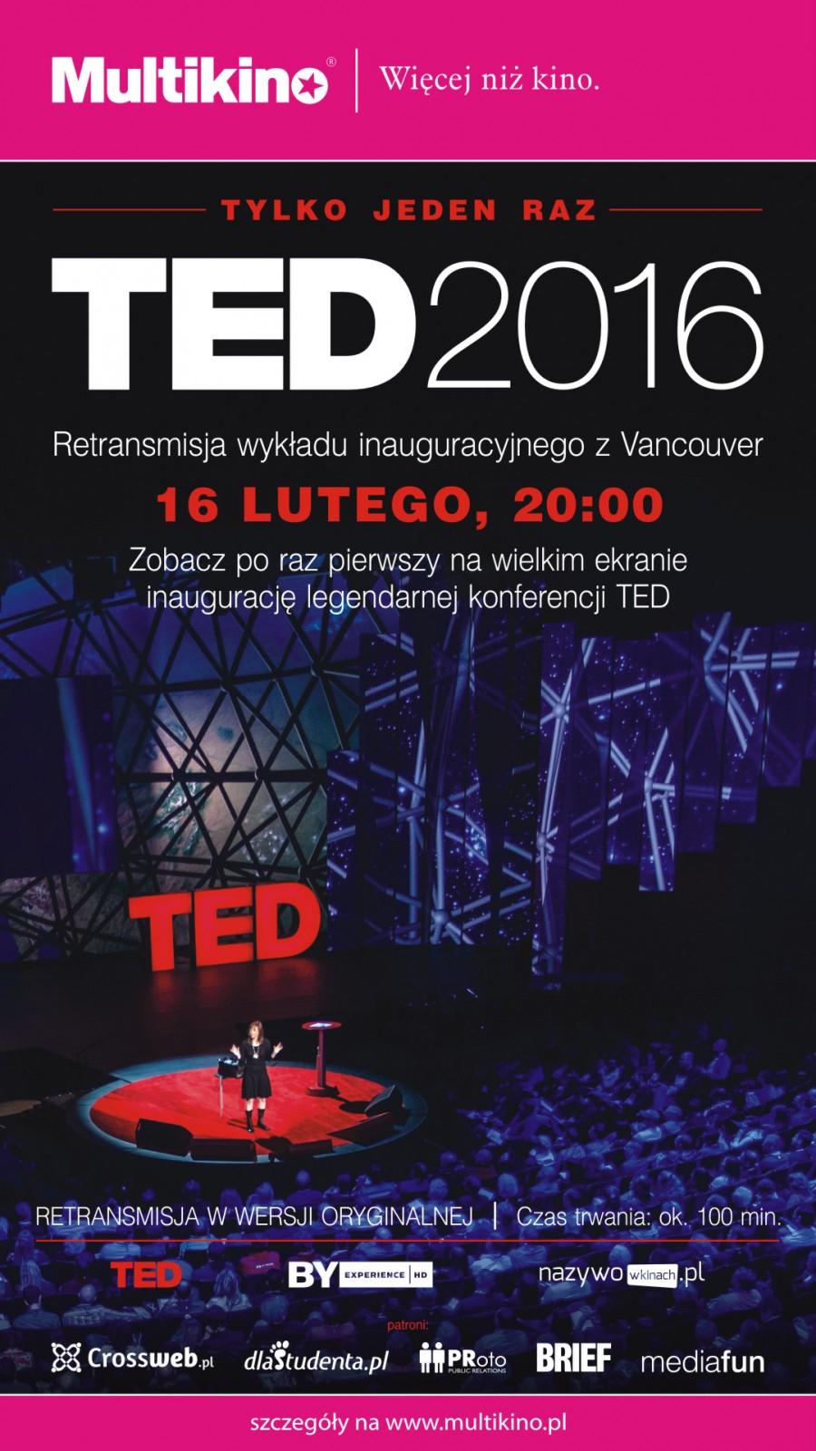TED2016 marzenie plakat